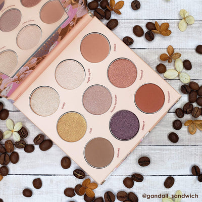 Winky Lux Eye Palette Latte Kitten Eyeshadow Palette